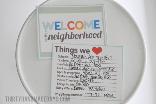 photo regarding Welcome to the Neighborhood Printable known as Refreshing Neighbor Reward Strategy