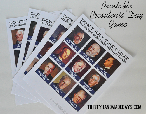 photograph relating to Printable Pictures of Presidents titled Presidents Working day